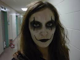 eric draven the crow makeup by brasilianefetiri