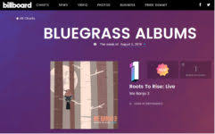 Billboard Bluegrass Chart Michelle Roche Media Relations We Banjo 3s Roots To Rise