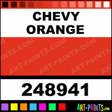 Chevy Orange Engine Enamel Enamel Paints 248941 Chevy