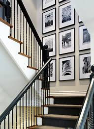 traditional staircase with aaron brothers sydney frame high