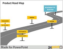 road map powerpoint template free free download offer on 24point0 product roadmap slide powerpoint