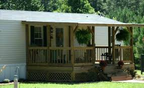 how to build a front porch on mobile home best plans