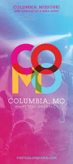 Graphic Design Columbia Mo 2018 2019 Columbia Missouri Visitor Area Guide By Maximum