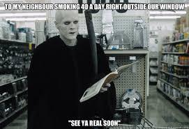 Grim Reaper memes | quickmeme via Relatably.com