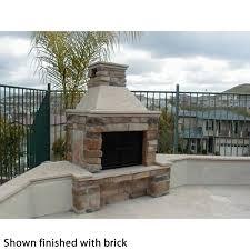 mirage stone outdoor wood burning fireplace w bbq woodlanddirect com outdoor fireplaces fireplace units wood