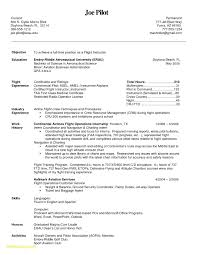 Resume For Pilots Best Of Airline Pilot Resume Example Download Now