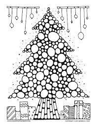Adult Coloring Pages Coloring Designs Christmas Tree Coloring