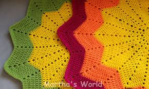 Baby Ripple Afghan Pattern Awesome Design Inspiration