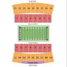 Wyoming Cowboys Stadium Seating Chart Football Seating Chart Interactive Seating Chart Seat Views