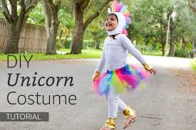 rainbow unicorn costume tutorial pattern