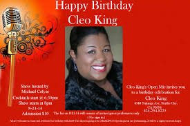Cleo Kings Birthday Show Hershrephun Com