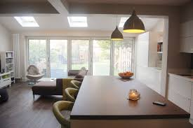 Kitchen Living Semi Detached Extension Kitchen Living Google Search Skylights