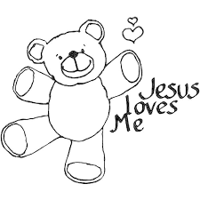 God Loves Me Coloring Pages Coloring Home