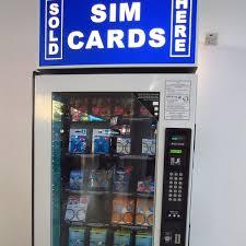 Sim Card Vending Machine Gorgeous SIM Card Vending Machine International Phone Pinterest Vending