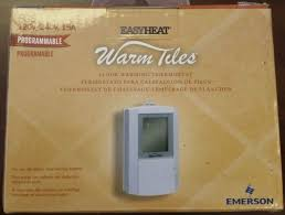 new fgs 120 240vac easyheat programable thermostat 120 or 240 volt dual voltage
