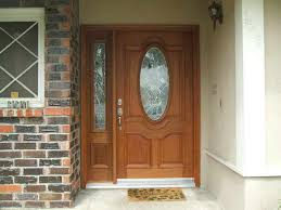 front door with one sidelightWood Front Entry Doors With Sidelights Examples Ideas  Pictures