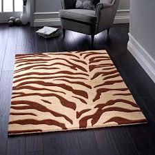 brown zebra rug zoom 8x10 brown zebra rug