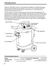robinair spx rob134apf recovery recycling recharging unit owners robinair spx rob134apf recovery recycling recharging unit owners manual page 4