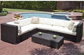 Lovely Patio Sectional Furniture Home Remodel Inspiration Outdoor