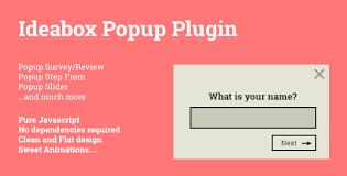 form slider ideabox popup popup survey review slider step form by tgundogdu