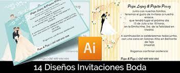 Plantillas Invitaciones De Boda Gratis Magical Art Studio