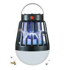Bug Free Camping Lights Led Camping Lantern 2 In 1 Rechargeable Uv Mosquito Killer