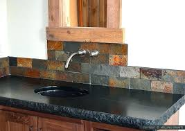 slate backsplash tile slate fabulous kitchen