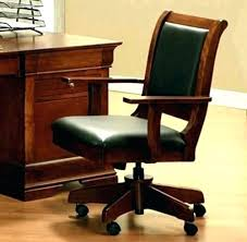 vintage wooden office chair. Vintage Wood Office Chair Adjustable Wooden With Wheels