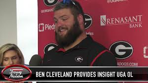 Ben Cleveland Uga Depth Chart Georgia Ol Ben Cleveland Provides Update On The Offensive Line Rotation