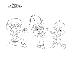 Add some colors to create your piece of art by print it out. Pj Masks Party Printables For Free Mandy S Party Printables