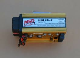 msd 7al 2 7224 4 cylinder cdi ignition control box great condition msd 7al 2 7224 4 cylinder cdi ignition control box excellent condition