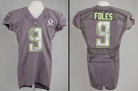 Bowl Site In Foles' Jersey Of Official Hall Lands Canton Football Pro Fame