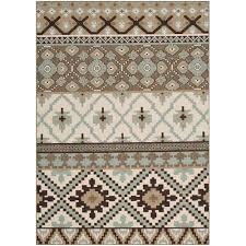 safavieh veranda creme indoor outdoor rug 5 3 x 7 7 rugs carpets best canada