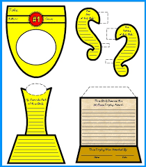 favorite book report trophy project templates worksheets rubric  my favorite book report trophy templates and graphic organizers