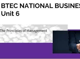 Nage Unit 6 Salary Chart Btec Business Unit 6 The Principles Of Management Complete Bundle