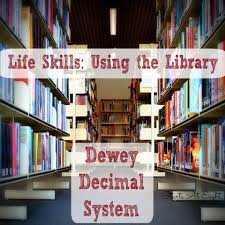 Life Skills Using The Library Dewey Decimal System