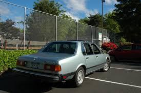 All BMW Models 1983 bmw 733i : OLD PARKED CARS.: 1980 BMW 733i.