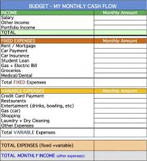 Personal Cash Flow Statement Template Excel Personal Cash Flow Statement Template Excel Free Datos