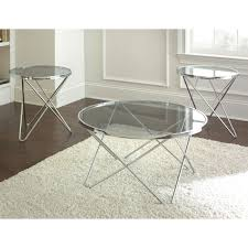 innovative silver round coffee table with steve silver company mx3000 matrix round coffee table set atg s