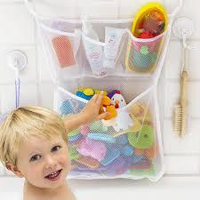 bathroom mesh net storage bag baby bath bathtub toy mesh net storage bag organizer holder for home 33x45cm toy organizer toy storage bathroom mesh