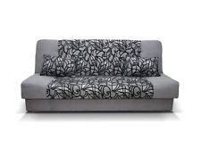 sofa beds with storage uk. Interesting Beds NEW LARGE CLICK CLACK SOFA BED FABRIC WITH STORAGE 3 SEATER BEIGE GREY  WERSALKA Throughout Sofa Beds With Storage Uk