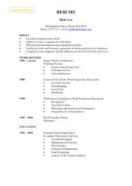 Cashier Job Description Sample 16 Mcdonalds Crew Member For Resume