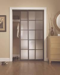 5 lite bronze glass sliding bypass closet doors idea interesting bypass closet doors