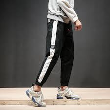 <b>2019 Spring New</b> Pants Men Fashion Side Stripe Design Joggers ...