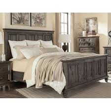 Classic Charcoal Gray California King Bed - Calistoga | RC Willey ...