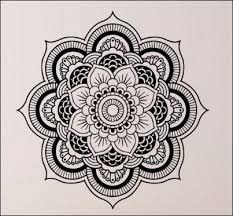 Small Picture Mandala Wall Decal Spa Room Removable wall decals Removable