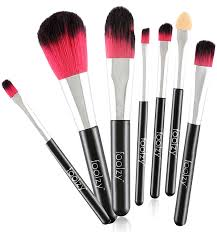 foolzy professional makeup brushes kit 7 no s