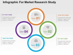 Infographic For Market Research Study Powerpoint Template