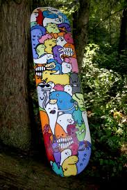 Easy To Draw Skateboard Designs Custom Skateboard Done In Acrylic And Sharpie Skateboard