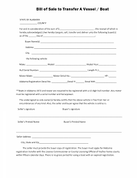 Free Alabama Boat Bill Of Sale Form Pdf Docx | Myfountainonline.com